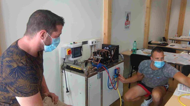 Formation fluide frigorigène à la CAPEB d'Echirolles